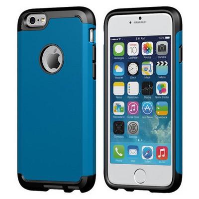 Microsonic Slim Fit Dual Layer Armor Iphone 6s Plus Kılıf Mavi Cep Telefonu Kılıfı