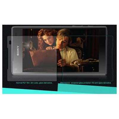 Microsonic Sony Xperia Z5 Compact (z5 Mini) Temperli Cam Ekran Koruyucu Kırılmaz Film Ekran Koruyucu Film