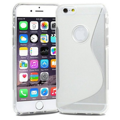 Microsonic Iphone 6s S-line Soft Kılıf Şeffaf Cep Telefonu Kılıfı