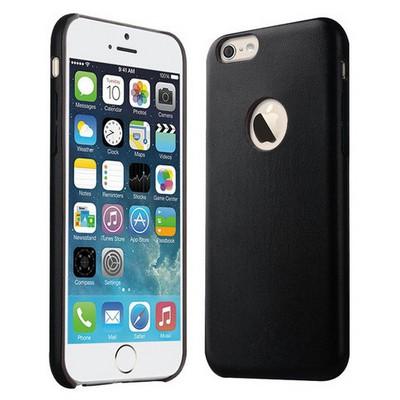 Microsonic Slim Leather Iphone 6s Ince Deri Kılıf Siyah Cep Telefonu Kılıfı