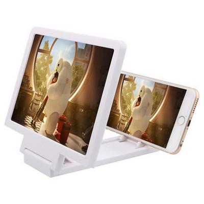 Microsonic Cep Telefonu Ekran Görüntüsü Büyütücü 3d Lens Beyaz Cep Telefonu Aksesuarı