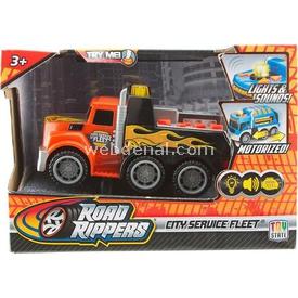Road Rippers R.r.sesli Ve Işıklı Mini Hizmet Araçı T. Araç Kurtarıcı Arabalar