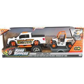 Road Rippers R.r.sesli Ve Işıklı Ford F-150 Svt Raptor Ve Ranger Xp Araç Seti Arabalar