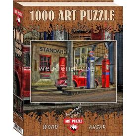 Art 1000 Parça  Ahşap İstasyon 8697950844376 Puzzle