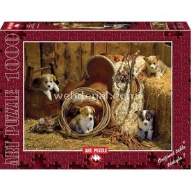 Art 1000 Parça Yavru Corgiler 8697950844314 Puzzle