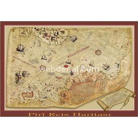 Art 1000 Parça Piri Reis Haritası 8697950843089 Puzzle