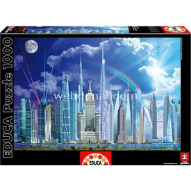 Educa 1000 Parça  Tall Buildings Puzzle