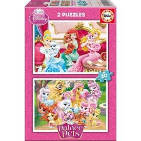 Educa Çocuk  Karton 2x20 Palace Pets Puzzle