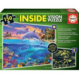 Educa Çocuk  150 Neon Underwater World Puzzle