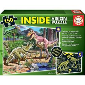 Educa Çocuk  150 Neon Dinosaur Puzzle