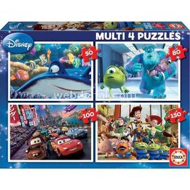 Educa Çocuk  Pixar (nemo-monsters-cars-toy Story) Puzzle