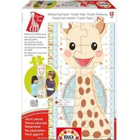 Educa Çocuk  Karton Sophie La Girafe Boy Çizelgesi Puzzle
