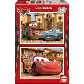 Educa Çocuk  Karton 2x20 Arabalar 2 Puzzle