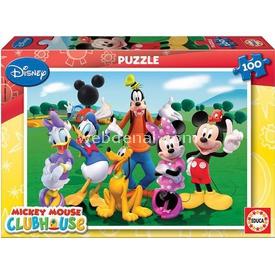 Educa Çocuk  Karton 100 Mickey Mouse Club House Puzzle