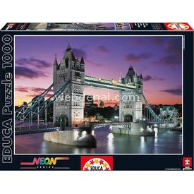 Educa 1000 Parça Neon  Tower Bridge Puzzle