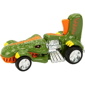 Road Rippers Hot Wheels Sesli Ve Işıklı T-rextroyer Oyuncak Araba Arabalar