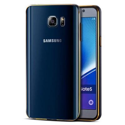 Microsonic Samsung Galaxy Note 5 Kılıf Ultra Thin Metal Bumper Siyah Cep Telefonu Kılıfı