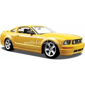 Maisto 2005 Ford Mustang Gt 1:24 Model Araba S/e Sarı Arabalar