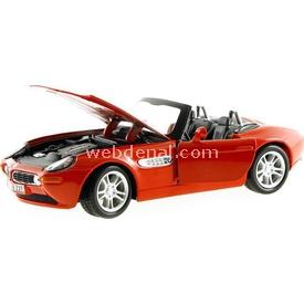 Maisto Bmw Z8 1:24 Model Araba S/e Kırmızı Arabalar