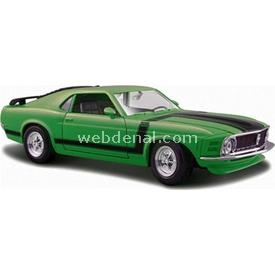 Maisto Ford Mustang Boss 1970 1:24 Model Araba S/e Yeşil Arabalar
