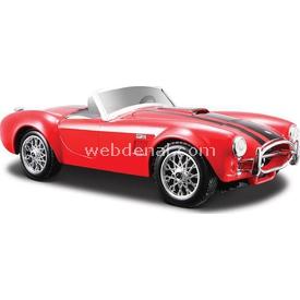 Maisto Shelby Cobra 427 1965 1:24 Model Araba S/e Kırmızı Arabalar
