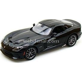 Maisto 2013 Srt Viper Gts 1:24 Model Araba S/e Siyah Arabalar