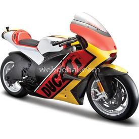 Maisto 2011 Ducati Desmosedici 1:6 Model Motosiklet Sarı Arabalar