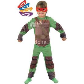 Rubies Ninja Kaplumbağalar Çocuk Kostümü 5-6 Yaş Kostüm & Aksesuar