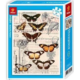 Educa Pintoo 300 Parça  Çiçeksi Puzzle