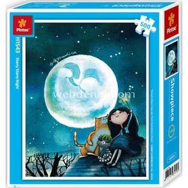Educa Pintoo 500 Parça  Yıldızlı Gece Puzzle