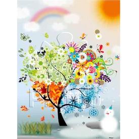 Educa Pintoo 300 Parça  Dilek Ağacı Puzzle