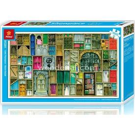 Educa Pintoo 1000 Parça  Kapalı Kapılar Puzzle