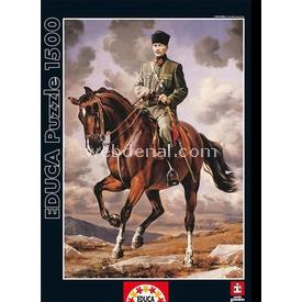 Educa 1500 Parça  Gazi Mustafa Kemal Sakarya Isiml Puzzle