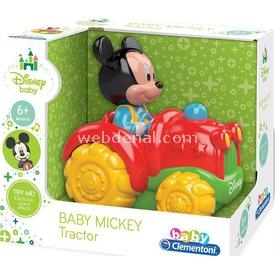 Clementoni Disney Baby Mickey Mini Traktör (6ay+) Arabalar