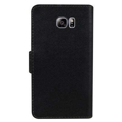 Microsonic Samsung Galaxy Note 5 Kılıf Cüzdanlı Deri Siyah Cep Telefonu Kılıfı