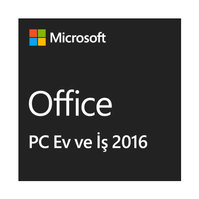 Microsoft Office Ev Ve Iş 2016, English, Kutu (home And Business) - T5d-02280 Ofis Yazılımı