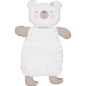 Bebepan Mrs.cream Figürlü Alt Açma Beyaz Alt Açma Minderi