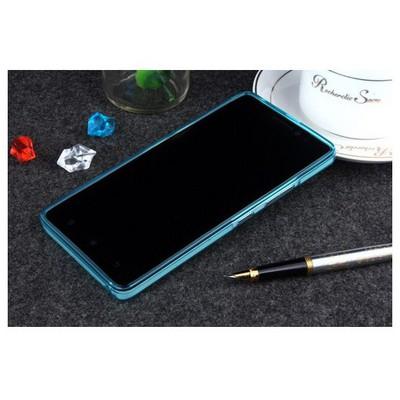 Microsonic Lenovo A7000 (k3 Note) Kılıf Transparent Soft Mavi Cep Telefonu Kılıfı
