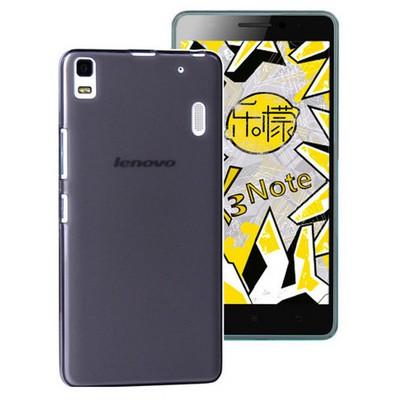 Microsonic Lenovo A7000 (k3 Note) Kılıf Transparent Soft Siyah Cep Telefonu Kılıfı