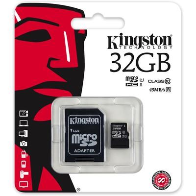 Kingston 32GB Class 10 UHS-I microSDXC Kart (SDC10G2/32GB)