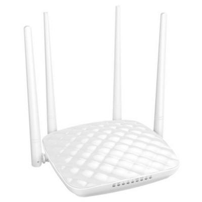 Tenda Fh456 4port Wifi-n 300mbps Highpower  200mw, Wps, Menzil Arttirici, 4x5dbi Anten Router