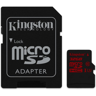 Kingston 32gb Microsd Uhs-ı U3 Sdca3/32gb Micro SD Kart