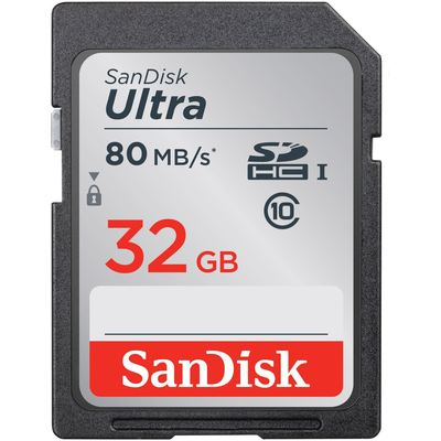 Sandisk SDSDUNC-032G-GN6IN FLA 32GB ULTRA  80MB/S CLASS 10UHS-I SDHC