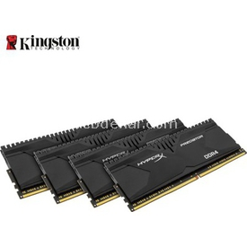 Kingston 32gb 4x8g Hyperx D4 2400m Hx424c12pbk4/32 RAM