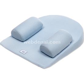 Funna Baby Güvenli Uyku Minderi Mavi Yastık & Kılıfları
