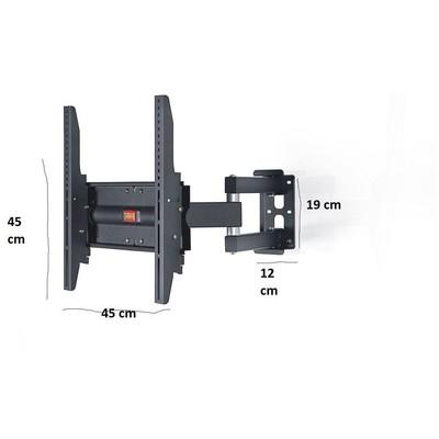 """Ultimate Rx-1000 32""""-55 Iki Açılı Hareketli Ve Öne Açılı Askı Aparatı Projeksiyon Aksesuarı"""