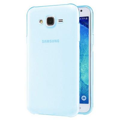 Microsonic Samsung Galaxy J2 Kılıf Transparent Soft Mavi Cep Telefonu Kılıfı