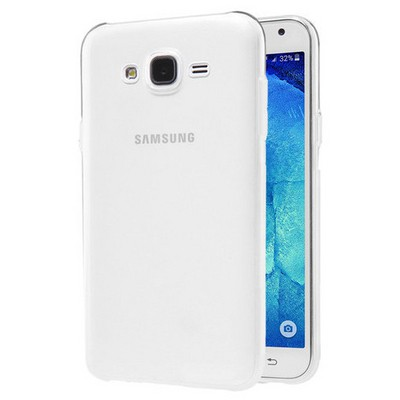 Microsonic Samsung Galaxy J2 Kılıf Transparent Soft Beyaz Cep Telefonu Kılıfı
