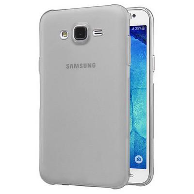 Microsonic Samsung Galaxy J2 Kılıf Transparent Soft Siyah Cep Telefonu Kılıfı