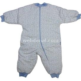 Bebitof 225 Kalpli  Mavi 1 Yaş (86 Cm) Uyku Tulumu